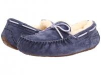 【包邮清仓特价】UGG女款羊毛豆豆鞋-军蓝色-6码
