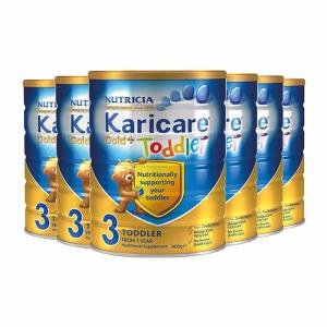 【新西兰直邮包邮】Karicare 可瑞康金装 3段 6罐/箱 保质期至2021年5月