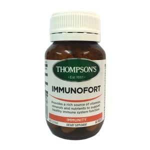 【最划算】Thompson's 汤普森 免疫片 120粒-成人款 保质期至19.11
