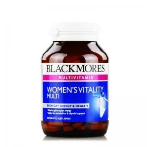 【最划算】Blackmores 百丽康 女士活力综合维生素 100粒(Womens Vitality) 保质期至19.08
