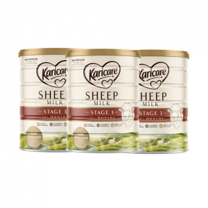 【澳洲直邮包邮】karicare 绵羊奶 3段 *3罐 保质期至20.11