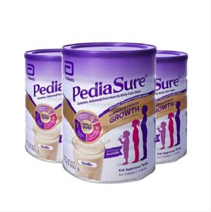 【新西兰直邮包邮】PediaSure 雅培 小安素 850g-香草味*3罐 保质期至21.03