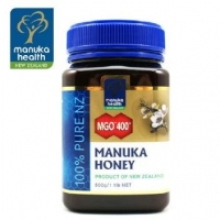 【国内现货 包邮】Manuka Health 蜜纽康 MGO400+麦卢卡蜂蜜 500g 保质期至2022.7