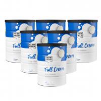 【新西兰直邮包邮】Farm Field 牧菲德 全脂奶粉 900g(6罐装) 保质期至2021年7月
