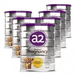 【新西兰直邮包邮+特价】A2 白金版 孕妇奶粉 900g 6罐/箱 保质期至20.01