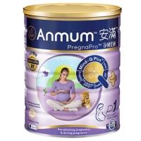 【新西兰直邮包邮】Anmum 安满 孕妇奶粉P1 6罐/箱 保质期至2021年3月