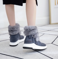 【澳洲直邮包邮】UGG 流苏兔毛内增高靴 CM092