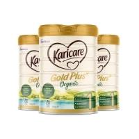 【新西兰直邮包邮】Karicare 可瑞康有机牛奶粉(3罐装) 1段 保质期至2022年5月